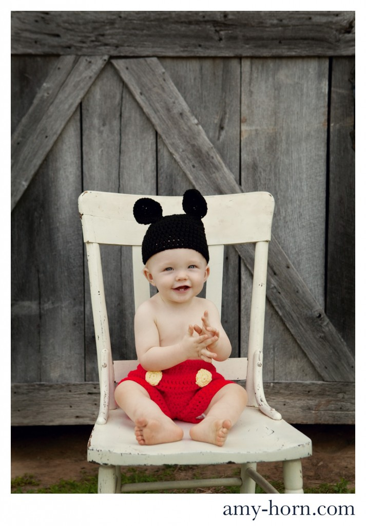 madison indiana child photographer, unique child portraits, baby photographer, amy horn, mickey mouse theme, cartoon character theme birthday