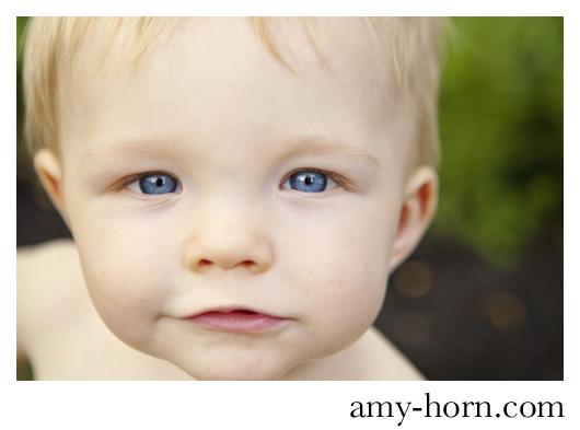 madison indiana baby photographer, amy horn, graduates program, close up portrait of child,